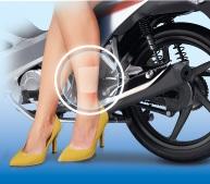 Chăm sóc bỏng pô xe máy