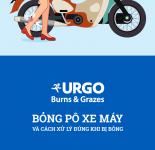 Bỏng pô xe máy & cách xử lý đúng khi bị bỏng